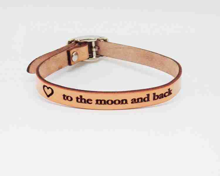 Personalized Collar Natural Veg Tan